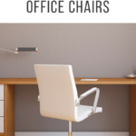 White Upholstered Office Chairs With Wheels